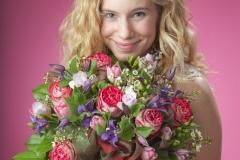 Blumen für Valentinstag 26.02.2014   copyright by Foto Fischer, Herrengasse 7 ( Altstadtpassage ),  8010 Graz, Tel.: 0043/ 316/ 82 53 22,  Fax DW4, e-mail :